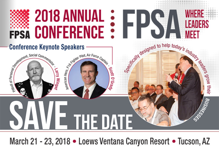 2018 Annual Conference SAVE THE DATE