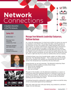Network Connections Newsletter Spring 2020 edition