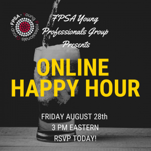 Online Happy Hour: Friday, Aug 28th at 3pm eastern. RSVP today!